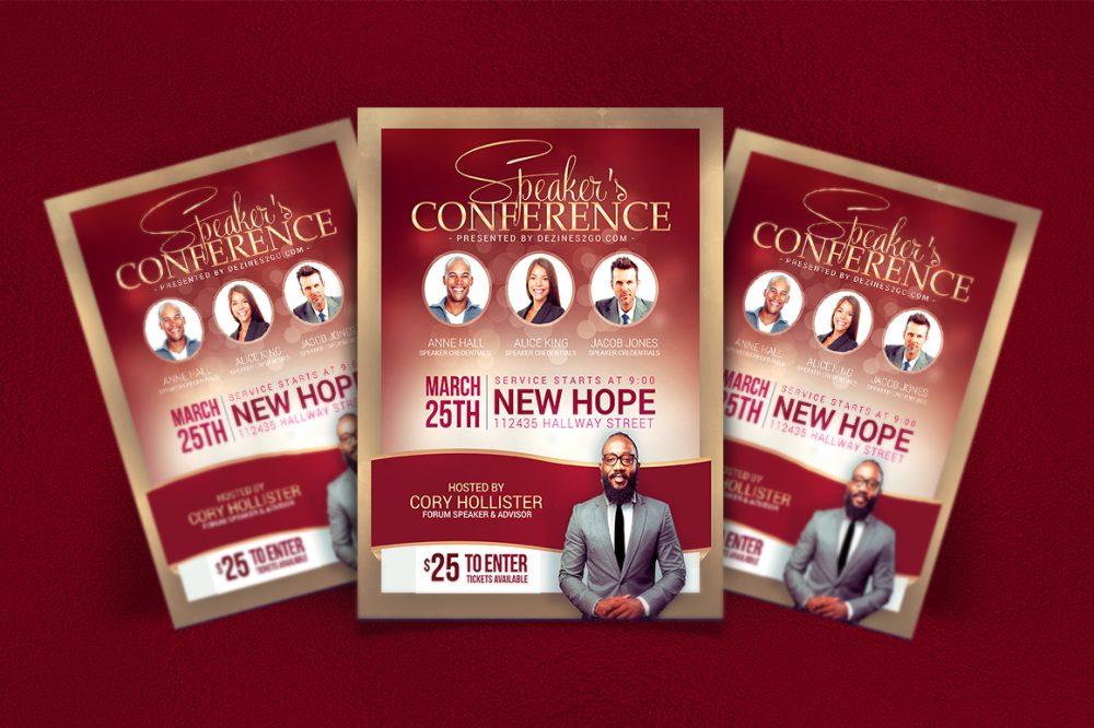 Any Conference Church Flyer Church Flyer psd photohop