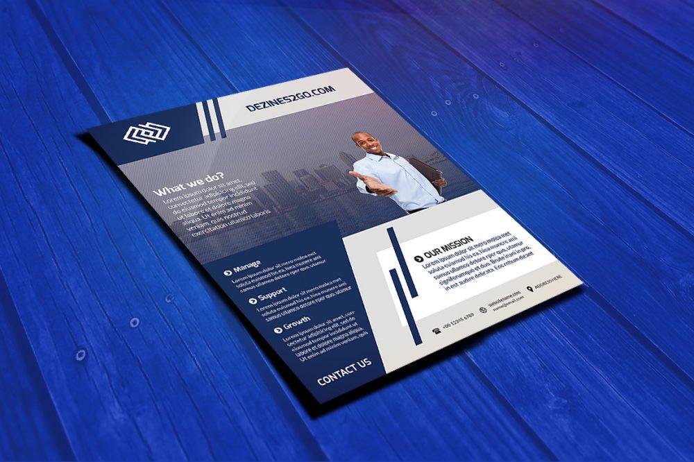 Corporate Marketing Flyer Template business flyer psd photohop