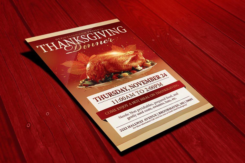 Thanksgiving flyer Template Design Templates psd photohop