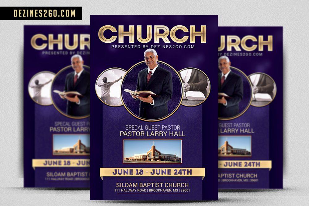Church Flyer Template Church Flyer psd photohop